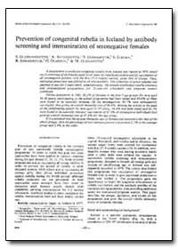 Bulletin of the World Health Organizatio... by S. Gudmundsdottir