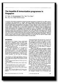 Bulletin of the World Health Organizatio... by K. T. Goh