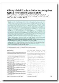 Bulletin of the World Health Organizatio... by H. H. Yang