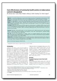 Bulletin of the World Health Organizatio... by Akramul Islam, M. D.