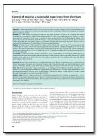 Bulletin of the World Health Organizatio... by Le Q. Hung