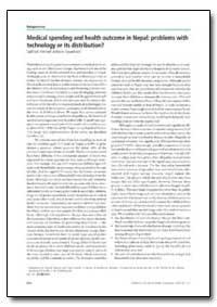 Bulletin of the World Health Organizatio... by Subhash Pokhrel