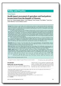 Bulletin of the World Health Organizatio... by Karen Lock