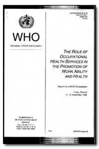 European Occupational Health Series : 19... by P. Sherwood Burge, Dr.