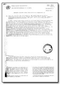 World Health Organization : Year 1987 ; ... by World Health Organization