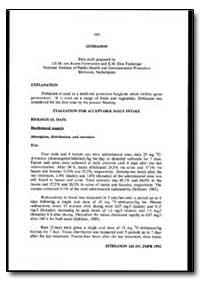 World Health Organization : Year 1993 ; ... by J. E. M. Van Koten-Vermeulen