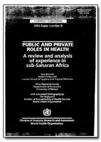 World Health Organization : Year 1997 ; ... by Sara Bennett