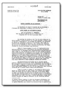 Health Organisation, Malaria Comission; ... by G. Canaperia