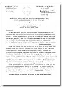 Health Organisation, Malaria Comission; ... by A. Shawar
