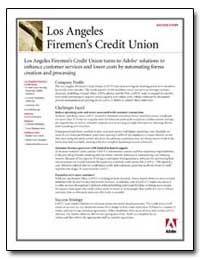 Los Angeles Firemen's Credit Union : Los... by Adobe Systems