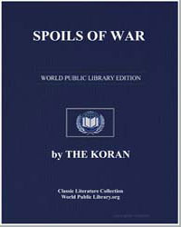 The Noble Koran (Quran) : Spoils of War by Transcribed  the Prophet Muhammad