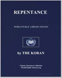 The Noble Koran (Quran) : Repentance by Transcribed  the Prophet Muhammad