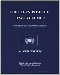 The Egends of the Jews Volume 2 by Ginzberg, Louis