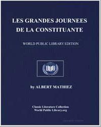Les Grandes Journees de la Constituante by Mathiez, Albert