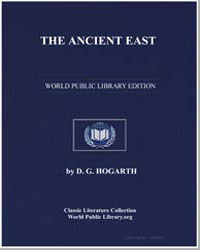 The Ancient East by Hogarth, David George