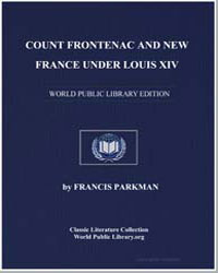 Count Frontenac and New France under Lou... by Parkman, Francis, Jr.