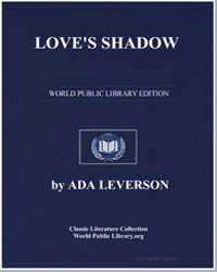 Love's Shadow by Leverson, Ada
