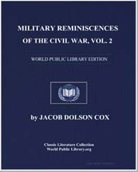 Military Reminiscences of the Civil War ... by Cox, Jacob Dolson