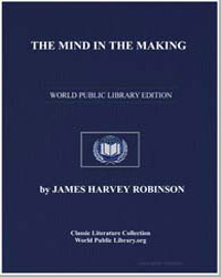 The Mind in the Making by Robinson, James Harvey