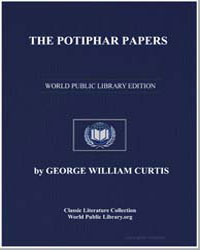 The Potiphar Papers by Curtis, George William