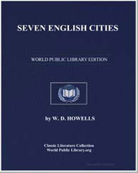 Seven English Cities by Howells, William Dean, Editor