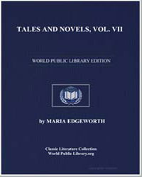 Tales and Novels, Volume Vii by Edgeworth, Maria