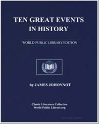 Ten Great Events in History by Johnson, James
