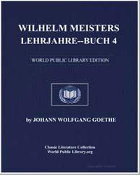 Wilhelm Meisters Lehrjahrebuch 4 by Von Goethe, Johann Wolfgang