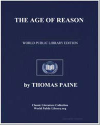 The Age of Reason by Paine, Thomas