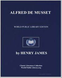 Alfred de Musset by James, Henry
