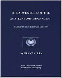 The Adventure of the Amateur Commission ... by Allen, Grant