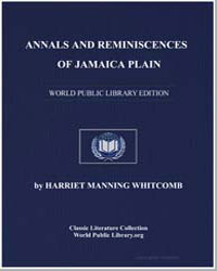 Annals and Reminiscences of Jamaica Plai... by Whitcomb, Harriet Manning