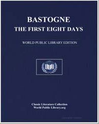 Bastogne : The First Eight Days by