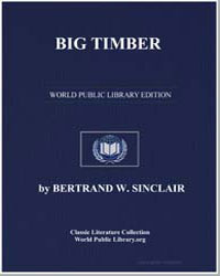 Big Timber by Sinclair, Bertrand W.