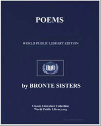 Poems by Bell, Currer