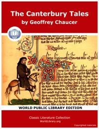 The Canterbury Tales by Chaucer, Geoffrey