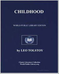 Childhood by Tolstoy, Leo Nikoleyevich