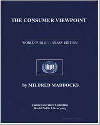 The Consumer Viewpoint by Maddocks, Mildred