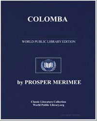Colomba by Merimee, Prosper