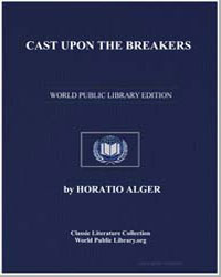 Cast Upon the Breakers by Alger, Horatio