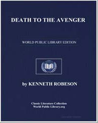 Death to the Avenger by Robeson, Kenneth