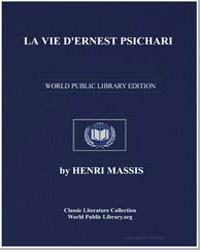 La Vie Dernest Psichari by Massis, Henri
