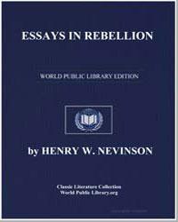 Essays in Rebellion by Nevinson, Henry W.