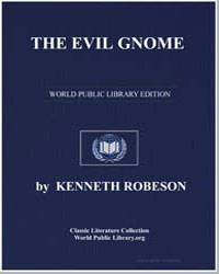 The Evil Gnome by Robeson, Kenneth