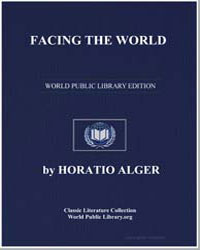 Facing the World by Alger, Horatio