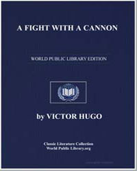 A Fight with a Cannon by Hugo, Victor