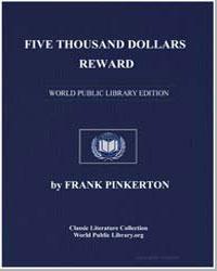 Five Thousand Dollars Reward by Pinkerton, Frank