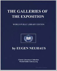 The Galleries of the Exposition: A Criti... by Neuhaus, Eugen