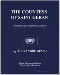 The Countess of Saint Geran by Dumas, Pere Alexandre