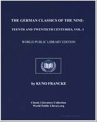 The German Classics of the Nineteenth an... by Francke, Kuno